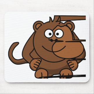 Funny Monkey/Engraçado de macaco Mouse Pad