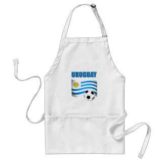 Futebol 1904 de Uruguai Avental