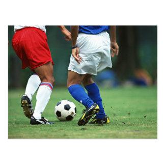 Futebol 3 cartão postal