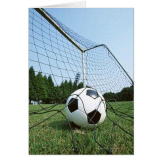 Futebol Cartão Comemorativo