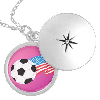 Futebol Colar Medalhão