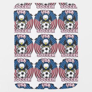 Futebol de Eagle EUA Manta Para Bebe