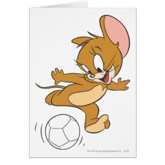 Futebol de Tom e de Jerry (futebol) 2 Cartão Comemorativo
