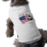 Futebol dos EUA Roupa Para Pets
