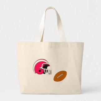 Futebol e capacete bolsa para compra