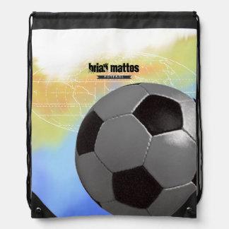 futebol/esporte personalizado futebol mochilas