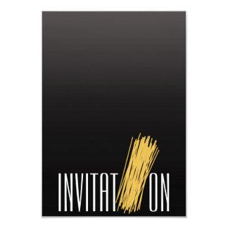 Fuzileiro naval italiano dos espaguetes do partido convite 8.89 x 12.7cm