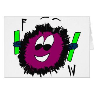 FWLogo-final-cor-Zazzle Cartão Comemorativo