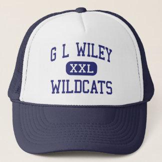 G L Wildcats Leander médio Texas de Wiley Boné