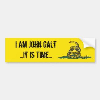 Gadsden John Galt é tempo Adesivo