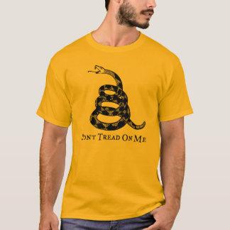 Gadsden não pisa em mim o t-shirt