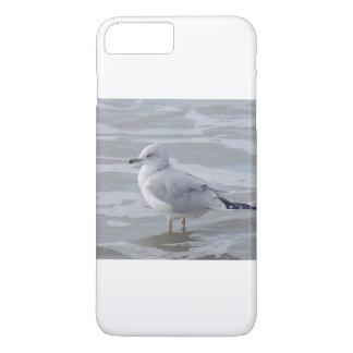 Gaivota de mar positiva da caixa do telefone 6 capa iPhone 8 plus/7 plus