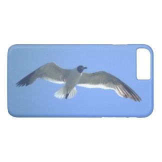 Gaivota em vôo capa iPhone 8 plus/7 plus
