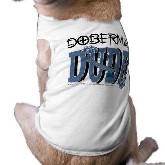 GAJO do Doberman Camisa Sem Mangas Para Cachorro