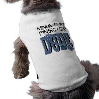 GAJO do Pinscher diminuto Camisetas Para Cães
