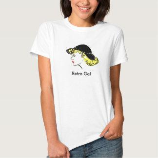 Galão retro (X-Grande) Camisetas