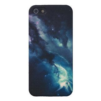 Galáxia azul iPhone 5 capa