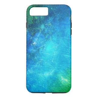 Galáxia do verde azul capa iPhone 8 plus/7 plus