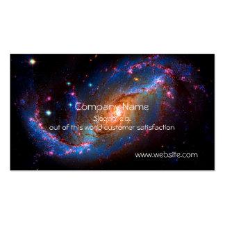 Galáxia espiral barrada NGC 1672 Cartão De Visita