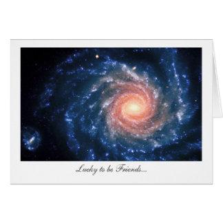 Galáxia espiral NGC 1232 - afortunada para ser Cartão Comemorativo