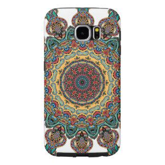 Galáxia Trippy S6 de Samsung da mandala, Capas Samsung Galaxy S6