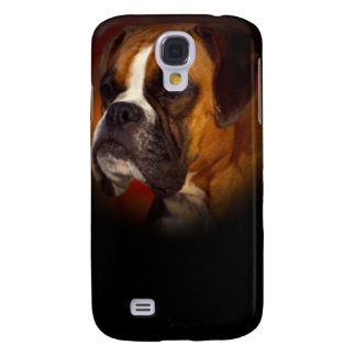 Galaxy S4 Case Cão do pugilista