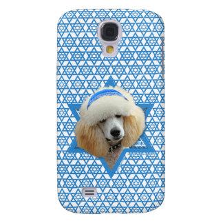 Galaxy S4 Case Estrela de David de Hanukkah - caniche - abricó