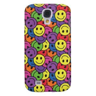 Galaxy S4 Case Hippy retro Pern dos smileys face