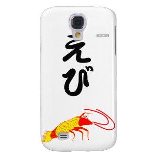 Galaxy S4 Case japonês do camarão