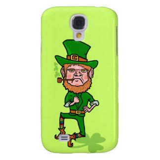 Galaxy S4 Case Leprechaun irlandês afortunado irritado engraçado