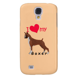 Galaxy S4 Case Mim coração meu pugilista