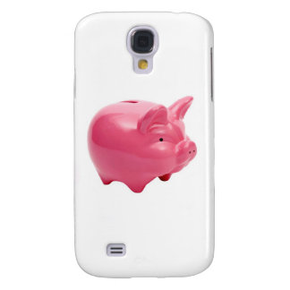 Galaxy S4 Case Porco cor-de-rosa