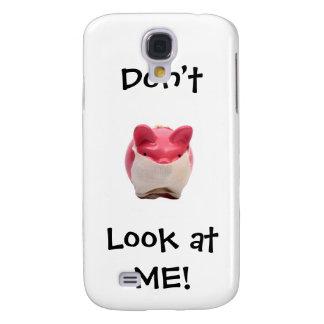 Galaxy S4 Case Porco cor-de-rosa Smelly