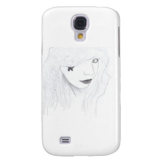 Galaxy S4 Case rock and roll girl