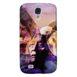 Galaxy S4 Cases Guerreiro do indiano do nativo americano