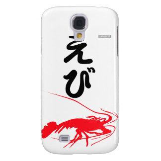 Galaxy S4 Cases japonês do camarão