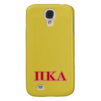 Galaxy S4 Cases Letras vermelhas alfa do Kappa do Pi