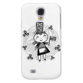 Galaxy S4 Cases Menina bretão