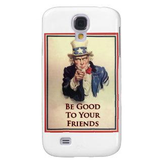 Galaxy S4 Cases Seja bom poster do tio Sam