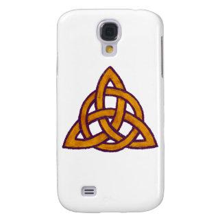 Galaxy S4 Cases Trindade dourada