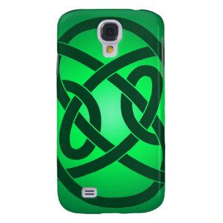 Galaxy S4 Cases Único nó de laço verde