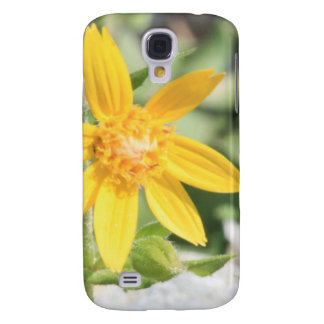 Galaxy S4 Cases Wildflower amarelo da montanha