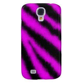 Galaxy S4 Cases Zebra cor-de-rosa 3G/3GS