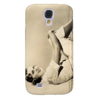Galaxy S4 Cover Pinup da estrela de cinema dos anos 30 do vintage