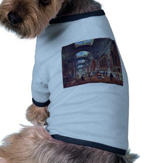Galeria de arte do detalhe do Louvre por Robert Hu Camisa Para Cães