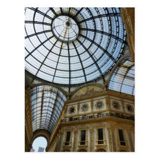 Galeria de Milão Cartão Postal