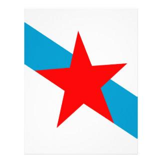 Galician-nacionalismo-Bandeira Papel Timbrado