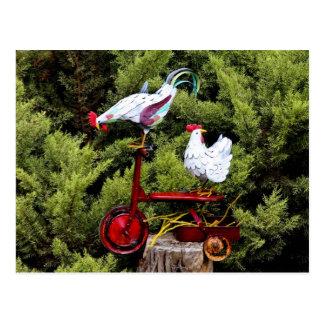 Galinha Trike Cartão Postal