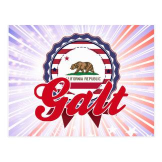 Galt, CA Cartão Postal