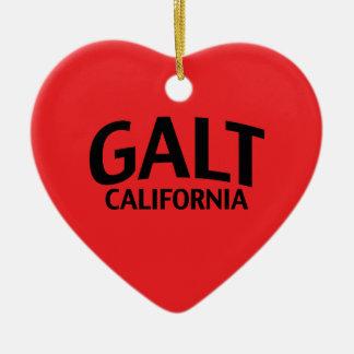 Galt Califórnia Enfeite